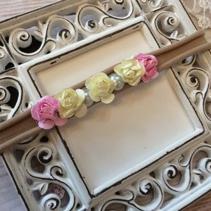 Other - Boutique Baby Girls Floral Headband